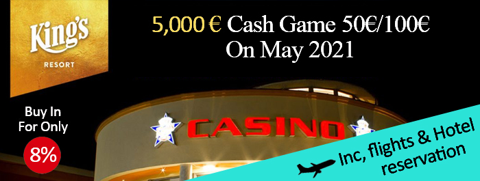 Kings casino - Cash Game